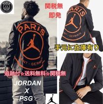 Nike AIR JORDAN Street Style Collaboration Logo Jackets