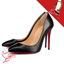 Christian Louboutin Leather Pin Heels Party Style Elegant Style
