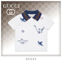 GUCCI Unisex Street Style Baby Girl Tops