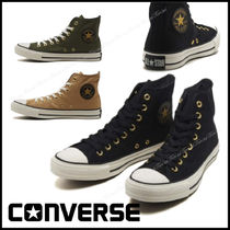 CONVERSE ALL STAR Casual Style Unisex Street Style Plain Low-Top Sneakers
