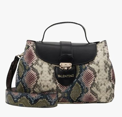 Crossbody Logo Casual Style 2WAY Other Animal Patterns