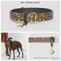 Burberry D ring Blended Fabrics Street Style Pet Supplies