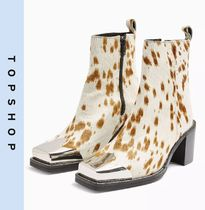 TOPSHOP Casual Style Other Animal Patterns Leather