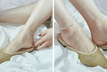 Hei Casual Style Street Style Silver Anklets
