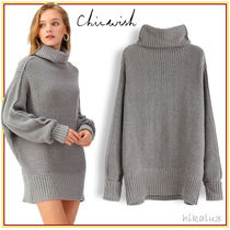 Chicwish Short Casual Style Long Sleeves Elegant Style Dresses
