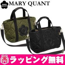 MARY QUANT Casual Style Nylon 2WAY Totes