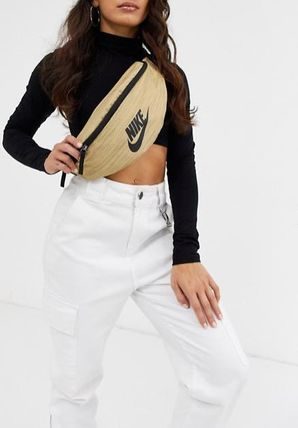 Monogram Casual Style Unisex Street Style Shoulder Bags