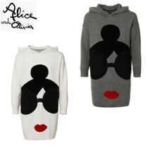 Alice+Olivia Long Sleeves Long Tunics