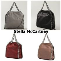 Stella McCartney FALABELLA Casual Style Faux Fur Street Style 2WAY Chain Plain