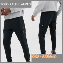 POLO RALPH LAUREN Tapered Pants Sweat Street Style Plain Tapered Pants