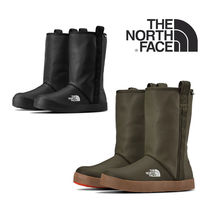 THE NORTH FACE Rubber Sole Unisex Plain PVC Clothing Flat Boots