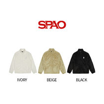 SPAO Casual Style Collaboration Plain Outerwear