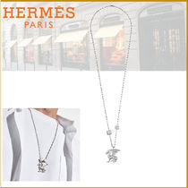 HERMES Street Style Plain Necklaces & Chokers