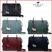 RADLEY Casual Style 2WAY 3WAY Plain Leather Party Style