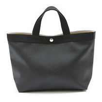 HERVE CHAPELIER Bi-color Plain Handbags