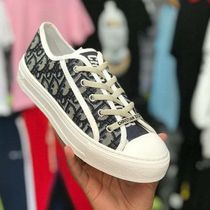 DIOR HOMME Casual Style Street Style Logo Low-Top Sneakers