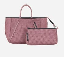 State of Escape Casual Style Unisex 2WAY Plain Handmade Totes