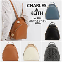 Charles&Keith Casual Style Faux Fur Bi-color Plain Python Elegant Style