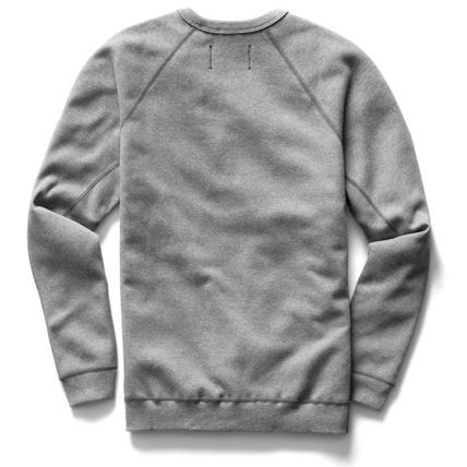 Crew Neck Pullovers Unisex Sweat Street Style Long Sleeves