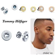 Tommy Hilfiger Unisex Street Style Stainless Earrings