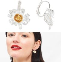 Les Nereides Flower Brass Earrings