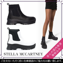 Stella McCartney Round Toe Rubber Sole Plain Ankle & Booties Boots