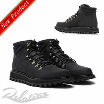 Dolce & Gabbana Mountain Boots Plain Leather Outdoor Boots