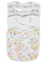 George Co-ord Baby Girl Bibs & Burp Cloths