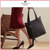 RADLEY Casual Style 2WAY Plain Leather Elegant Style Totes