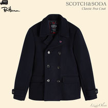 Ron Herman Short Wool Plain Handmade Peacoats Coats