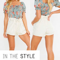 IN THE STYLE Denim Denim & Cotton Shorts