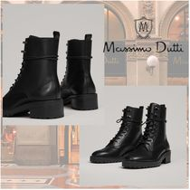 Massimo Dutti Casual Style Office Style Elegant Style Mid Heel Boots