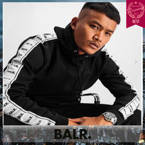 BALR Unisex Street Style Plain Cotton Hoodies