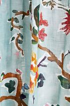 Anthropologie Flower Patterns Co-ord Curtains