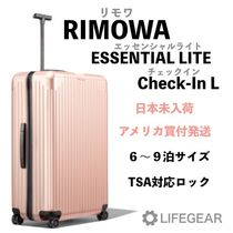 RIMOWA ESSENTIAL LITE Unisex Over 7 Days Hard Type TSA Lock Luggage & Travel Bags