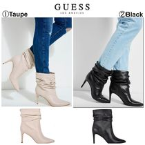 Guess Casual Style Plain Pin Heels Ankle & Booties Boots
