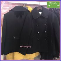 kate spade new york Short Plain Elegant Style Peacoats