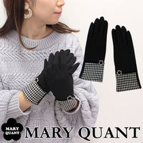 MARY QUANT Zigzag Wool Smartphone Use Gloves