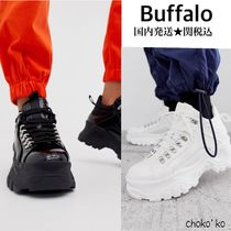 Buffalo LONDON Platform Casual Style Unisex Faux Fur Street Style Plain