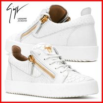 GIUSEPPE ZANOTTI Other Animal Patterns Low-Top Sneakers