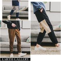 Slax Pants Tapered Pants Corduroy Plain Tapered Pants