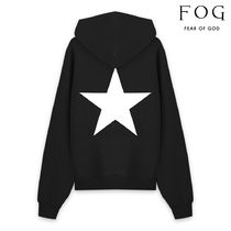 FEAR OF GOD ESSENTIALS Pullovers Star Unisex Street Style Long Sleeves Plain