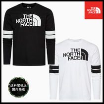 THE NORTH FACE Crew Neck Street Style Long Sleeves Cotton