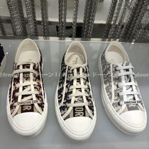 Christian Dior Rubber Sole Logo Low-Top Sneakers
