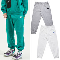USED FUTURE Unisex Sweat Street Style Plain Joggers & Sweatpants