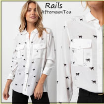 Rails Silk Long Sleeves Other Animal Patterns Medium Handmade