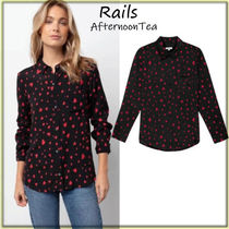 Rails Heart Long Sleeves Medium Handmade Shirts & Blouses