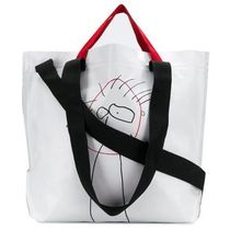 Plan C Casual Style Street Style Plain Totes