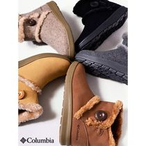 Columbia Mountain Boots Unisex Fur Street Style Outdoor Boots