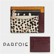 PARFOIS Dots Faux Fur Other Animal Patterns Card Holders